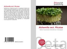 Buchcover von Alchemilla sect. Plicatae