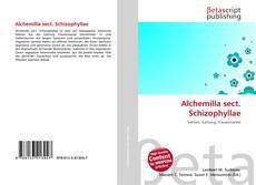 Bookcover of Alchemilla sect. Schizophyllae