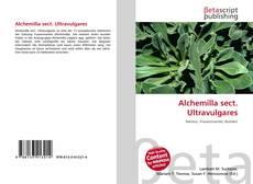 Buchcover von Alchemilla sect. Ultravulgares
