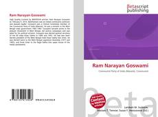 Bookcover of Ram Narayan Goswami