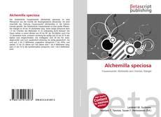 Buchcover von Alchemilla speciosa