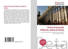 Couverture de Prince Emanuele Filiberto, Duke of Aosta