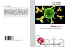 Bookcover of Parvovirus