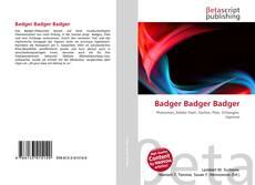Bookcover of Badger Badger Badger