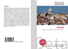 Bookcover of Alciato