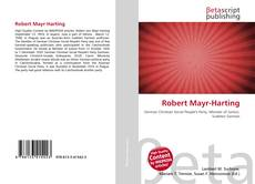 Bookcover of Robert Mayr-Harting