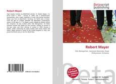 Buchcover von Robert Mayer