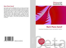 Обложка Ram Piara Saraf