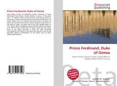 Capa do livro de Prince Ferdinand, Duke of Genoa