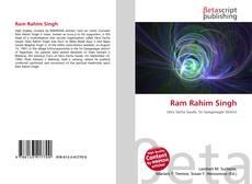 Borítókép a  Ram Rahim Singh - hoz