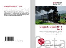 Bookcover of Mosbach–Mudau Nr. 1 bis 4