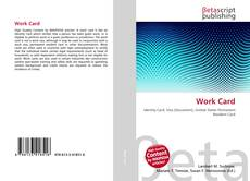 Bookcover of Work Card