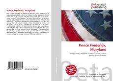 Bookcover of Prince Frederick, Maryland