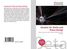 Bookcover of Sonatas for Violin and Piano (Grieg)