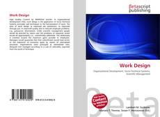 Bookcover of Work Design