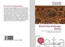 Buchcover von Prince Friso of Orange-Nassau
