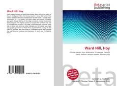 Portada del libro de Ward Hill, Hoy