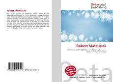 Buchcover von Robert Mateusiak