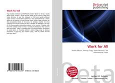 Bookcover of Work for All