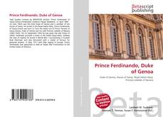 Couverture de Prince Ferdinando, Duke of Genoa