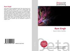 Bookcover of Ram Singh