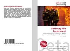 Portada del libro de Vicksburg Fire Department