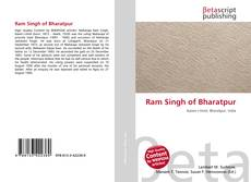 Bookcover of Ram Singh of Bharatpur