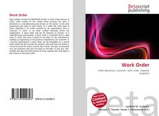 Bookcover of Work Order