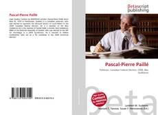 Buchcover von Pascal-Pierre Paillé