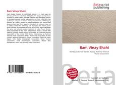 Bookcover of Ram Vinay Shahi