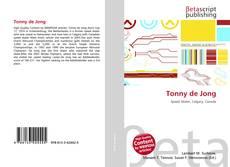 Portada del libro de Tonny de Jong