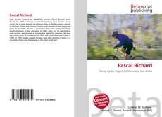 Pascal Richard kitap kapağı
