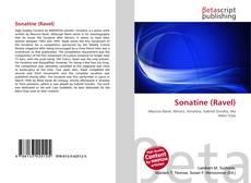 Portada del libro de Sonatine (Ravel)