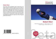 Buchcover von Robert Marr