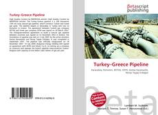 Bookcover of Turkey–Greece Pipeline