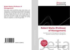 Couverture de Robert Marks (Professor of Management)