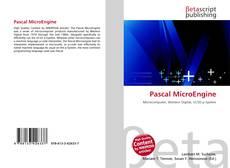 Buchcover von Pascal MicroEngine