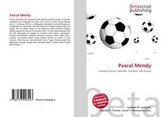 Buchcover von Pascal Mendy