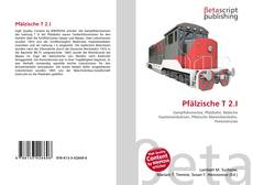 Bookcover of Pfälzische T 2.I