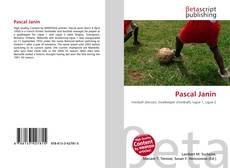 Bookcover of Pascal Janin