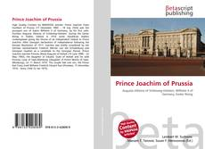 Buchcover von Prince Joachim of Prussia