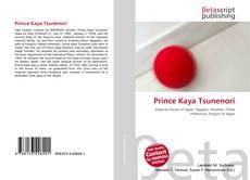 Bookcover of Prince Kaya Tsunenori