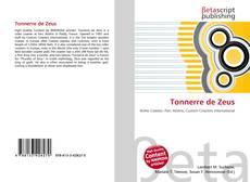 Buchcover von Tonnerre de Zeus