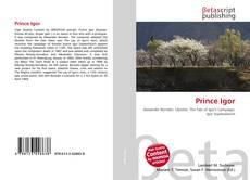 Prince Igor kitap kapağı