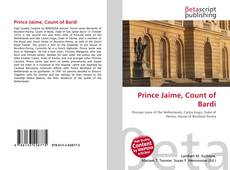 Buchcover von Prince Jaime, Count of Bardi