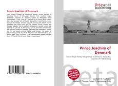 Prince Joachim of Denmark的封面