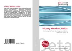 Portada del libro de Vickery Meadow, Dallas