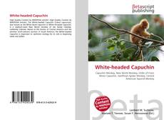 White-headed Capuchin kitap kapağı