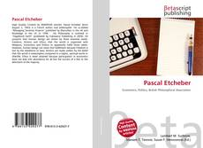 Buchcover von Pascal Etcheber