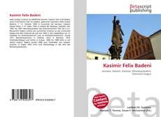 Buchcover von Kasimir Felix Badeni